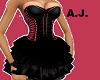 SEXY CORSE DRESS *AJ*
