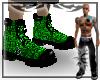 {E} Toxic Gator Boots