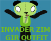 Invader Zim GIR Outfit