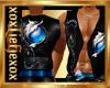 [L] Blue WOLF Vest M