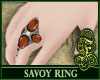 Savoy Ring Orange