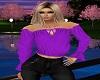 *N*Purple Gypsy Blouse