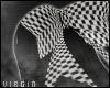 💀 Checkered Bow