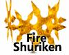 Fire Shuriken