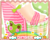 :G: Frilly Frog~ shoes