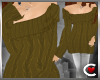 *SC-Snugly Sweater Brown
