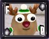 *FP* Green Reindeer Pet