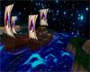 night viking island