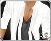 RS*LeatherJacket-White