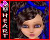 (H) SANDY Brown Blue Bow