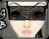 [GB] Black Lace Glasses
