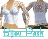 Lace Cami Set in White