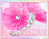 :G:Pink Flowers Bracelet