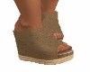 TAN BEACH WEDGES