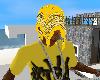 Yellow head bandana