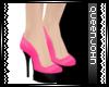 Q|J PinkPinup Heels