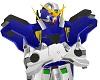 Blue Gundam Torso
