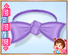 Kids Purple Bowtie