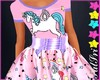 Pink Unicorns Dress