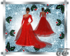 Genny Christmas Red Gown