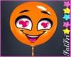 Cute Orange Balloon