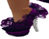 purple rose shoe