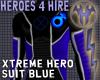 Xtreme Hero Blue/Leather