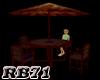 (RB71) HooRoo Patio Set