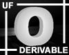 UF Derivable Letter O