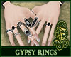 Gypsy Rings Black