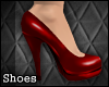 [TLZ]Red pvc pumps