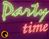 Party time neon