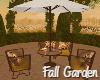 Fall Garden Table