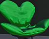 Green Heart Chair