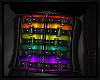 \/ Rainbow Corset