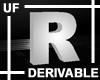 UF Derivable Letter R