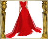 Crimson Lady Gown