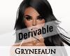 Derivable long hair 17