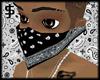 J$ Black Bandana