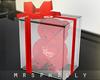""" VDay Gift Bear Red"