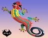 Wall Art Gecko