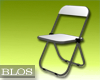 BLOS White Fold Chair
