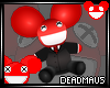 /5/ Deadmau5 Doll *RED*