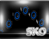 *SK*Barrell Speakers Bl