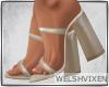 WV: Latte Sandals