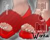 W°Devil FuzzySlippers.F