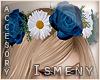 [Is] Blue Rose Headband
