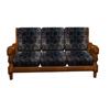 Grubby sofa poseless