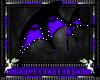 purple & black wings