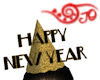 Happy New Year Cone Hat